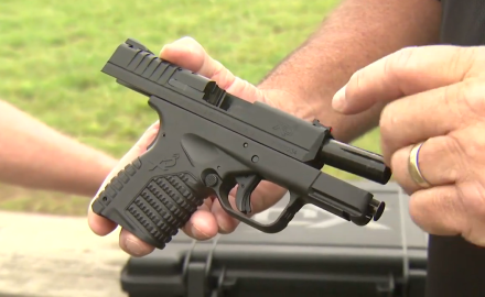We talk with Rob Leatham about Springfield's XDs pistol.