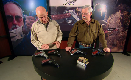 The G&A team highlights the Custom Shop Family from Kimber.