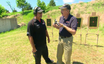 Patrick Sweeney talks with Rob Leatham about the Springfield EMP chambered in 9mm and .40.