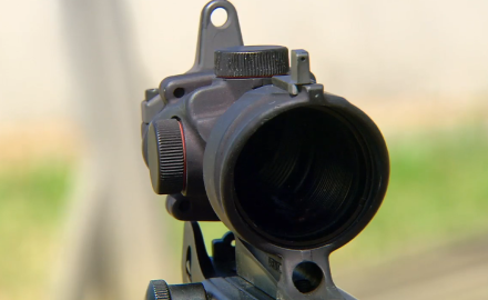 James Tarr discusses the features of the durable Trijicon ACOG scope.