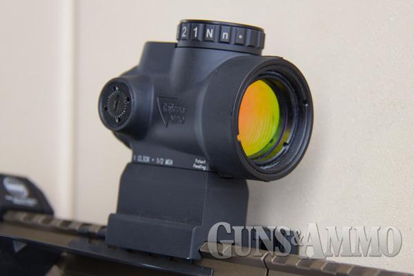 Trijicon-MRO-(Miniature-Rifle-Optic)