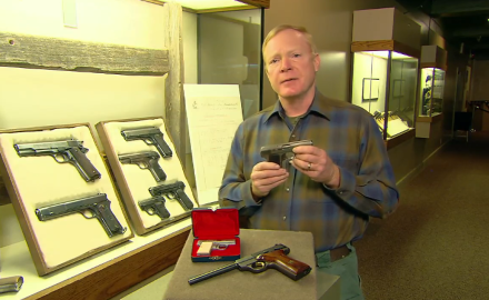 Craig Boddington discusses one of John Browning's blowback guns, the 1910 semi-auto from FN.