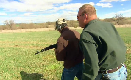 We battle windy conditions to compete in an auto and semi-auto shoot-off, looking for the best