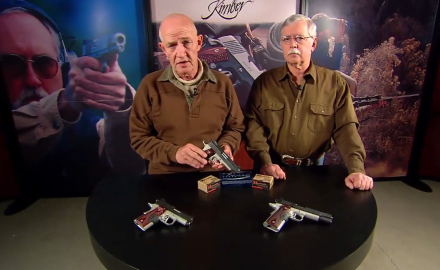 Garry James and Dick Metcalf feature the Crimson Carry Family of pistols from Kimber.  These are