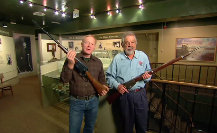 Craig Boddington is at the John Browning Museum in Utah to talk about one of his great lever