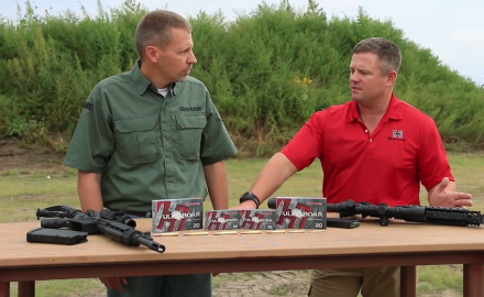 James Tarrr talks with Hornady's Neil Davies about their brand new line of ammo for hog hunting,