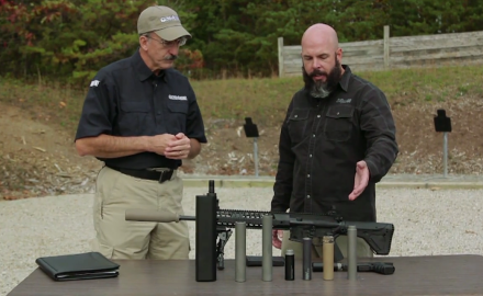 We discuss how to handle the paperwork involved in purchasing/owning a suppressor.