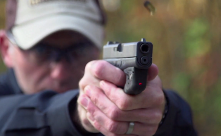 Richard Nance and Tom Beckstrand discuss the LaserLyte laser that was created for the Glock 42.