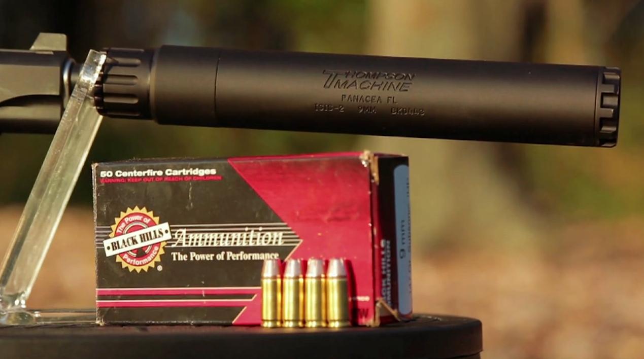 Black Hills 9mm Subsonic Ammo