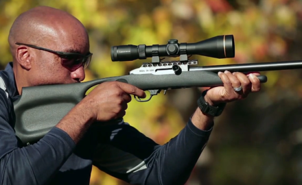 Our experts highlight a sppressed .22 semiauto rifle with a carbon-fiber barrel.