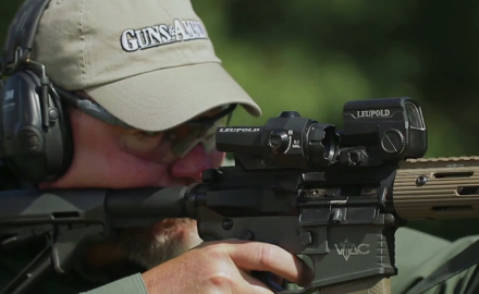 Craig Boddington and Kyle Lamb are on the range to check out Leupold's Devo Optic Sight.  A nifty