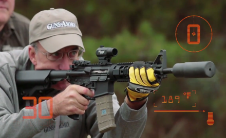 Patrick Sweeney runs an AR until it glows, steams, and smokes- basically, until it gets