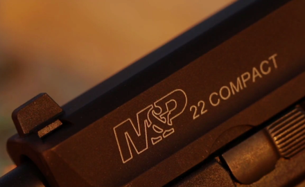 Kyle Lamb and Sean Utley have a look at Smith & Wesson's new M&P .22 pistol.  After