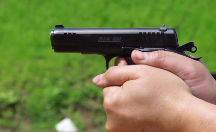 Rock Island Armory is known for its 1911 .45's, but new for 2015 is its slick, compact .380 pistol