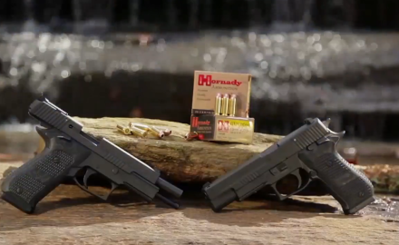 SIG Breaks into yet another pistol category by launching its highly anticipated 10 mm pistol.