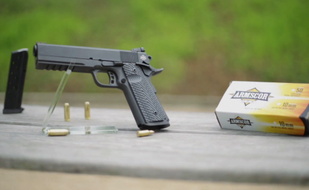 James Tarr is at the range with Martin Tuason of Rock Island Armory to discuss the high-powered