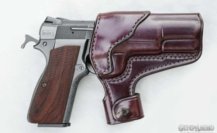 The LFA-1 from 5 Shot Leather is tight and remains tight. The body is a sleeve of leather tightly