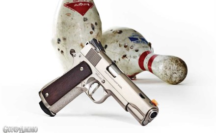 Regular readers may have recognized a Colt 1911 that has been in a previous column. I have to