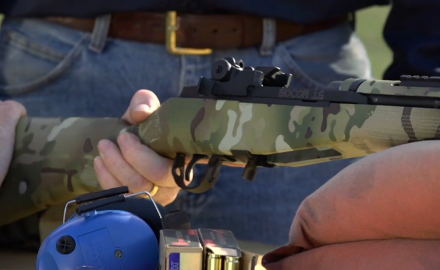 Craig Boddington and James Tarr are at the range with Springfield's SOCOM 16.