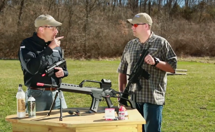James Tarr and Eric Poole feature some full-auto airguns that strongly resemble the real deal.