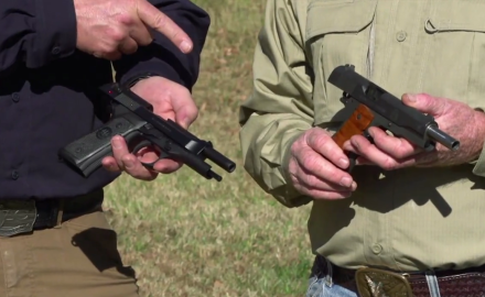 Craig Boddington and Kyle Lamb talk about transitioning from the Model 1911 to the M9.