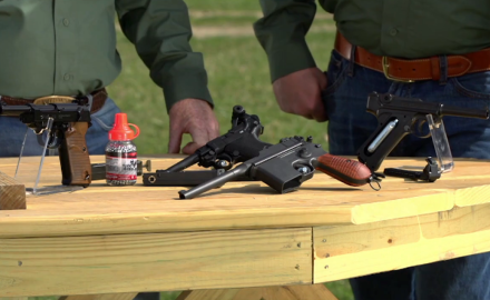 Craig Boddington and Eric Poole look at the Legend Series of airguns from Umarex.  There are many