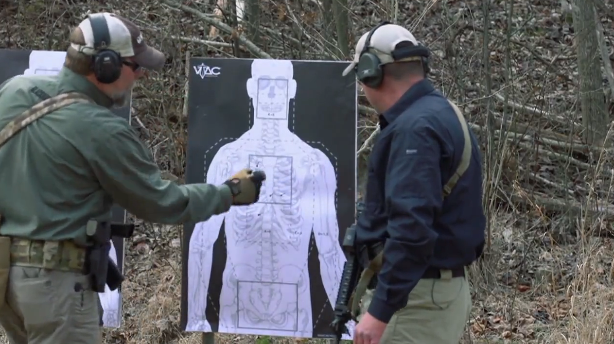 Tactical Training: Rifle Zig Zag Drill