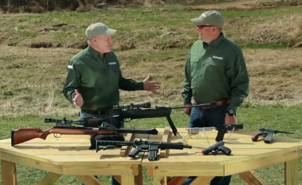 Craig Boddington and Eric Poole examine some of the different airgun options available from