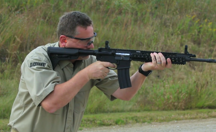 Patrick Sweeney and Todd Rassa feature the SR 556 Takedown Rifle from Ruger.