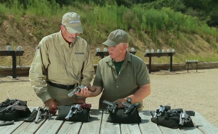 Patrick Sweeney visits The Site to take a look at the evolution of the revolver to the pistol.