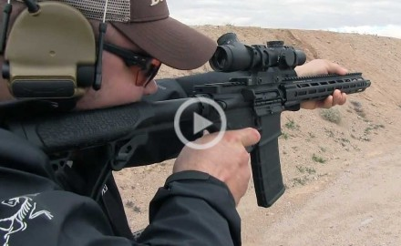 The Daniel Defense V7 is the first rifle in the DDM4 lineup to feature the M-LOK attachment