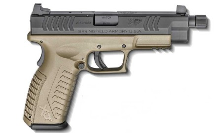 Springfield Armory announced two new suppressor ready XDM handguns for 2016. The new