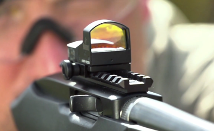 Patrick Sweeney and James Tarr feature the compact Fastfire 3 Red Dot sight from Burris.