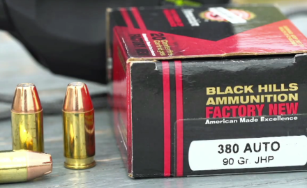 James Tarr and Patrick Sweeney cover the options available from Black Hills Ammunition.