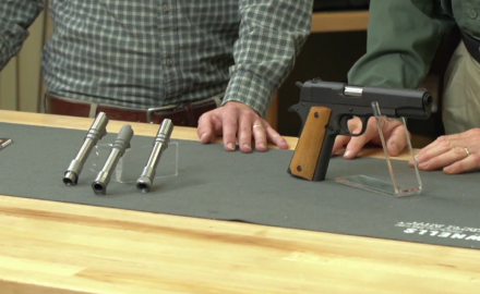 Our experts take a look at the 1911 barrel options available from Brownells.