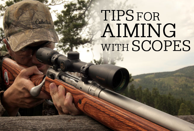 Tips for Aiming with Scopes