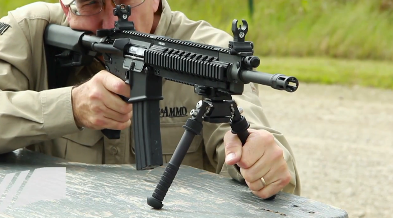 Overview of the Raptor Charging Handle and Atlas QD Bipod
