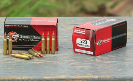 Black Hills V-Max ammo is offered in a variety of calibers and loads.