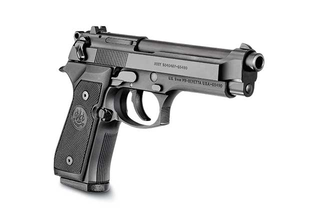 The Beretta M9 and the MHS Trials