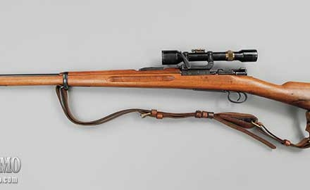 According to Garry, the Swedish Model 41B Mauser may well have been the best sniper rifle of its