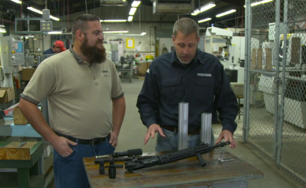 Who doesn't love sweet AR-15 accessories?  Guns and Ammo's James Tarr meets up with Chris Graham of