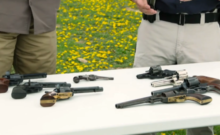 history of revolvers