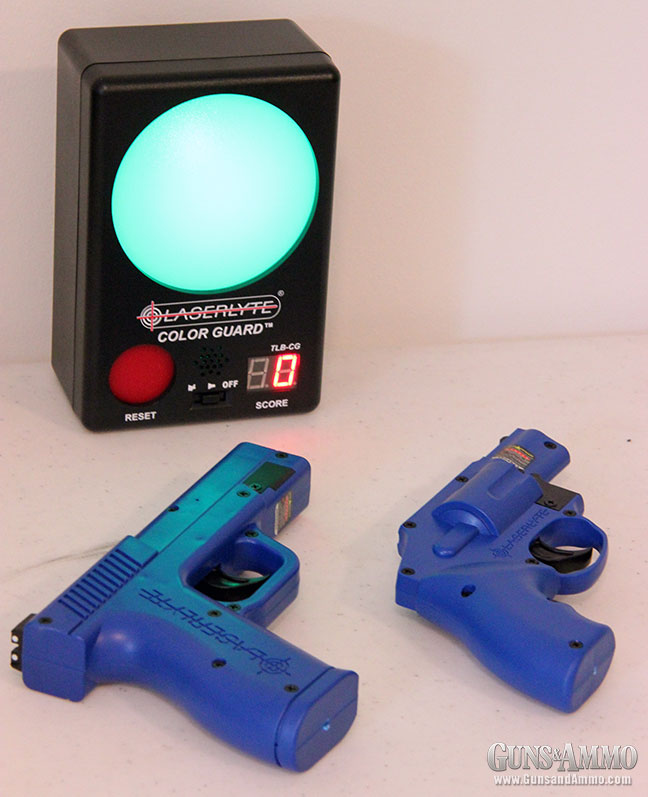 Review: LaserLyte Color Guard Trainer Target