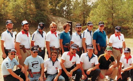 The competitors in the 1983 IPSC World Shoot VI may have accomplished more for the gun industry