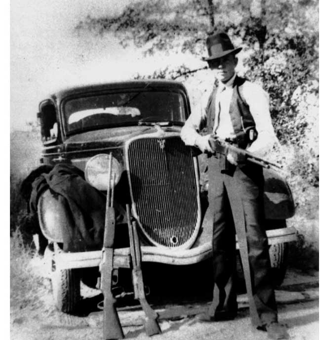 Remington Timeline: 1934 - Guns of Bonnie & Clyde