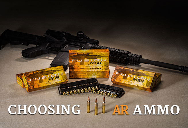 Shoot 101: Choosing AR Ammo