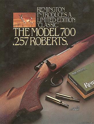 Remington Timeline: 1962 - Remington Model 700 Bolt-Action R