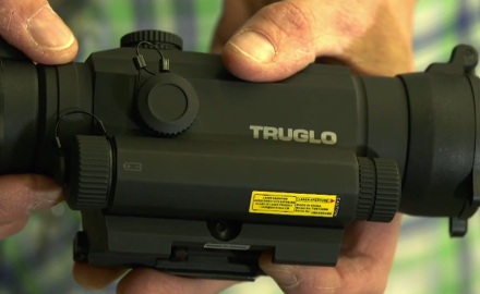 Eric Poole and Kimberly Heath are at the range testing out the Tru-Tec red dot optics from TruGlo.