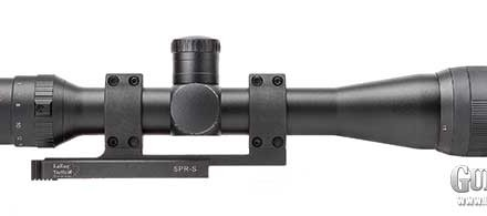 The 44mm objective lens is just the right size for its power range. Not too large, this scope is