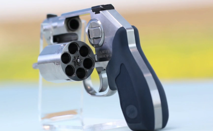 Patrick Sweeney and Eric Poole discuss revolvers with cylinder capacities from 5 to 10 rounds and